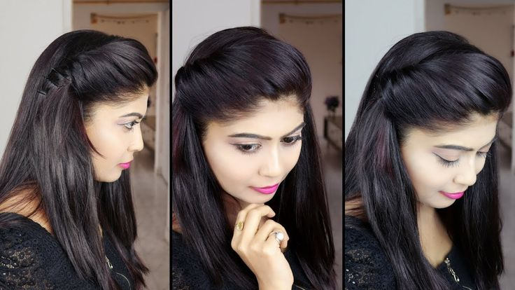 how to make side puff Hairstyle | 1 minute side puff hairstyle | Rinkal Soni - YouTube