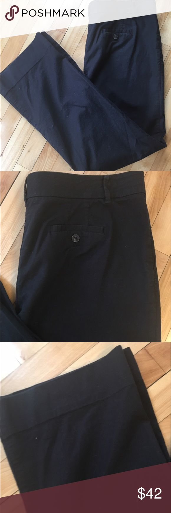 Tory Butch Stretch Twill Black Casual Pants Sz 14 Super lightweight stretch cotton chinos with slash front pockets and two back pockets. Unlined. Comfortable beyond belief! Tory Burch Pants Straight Leg