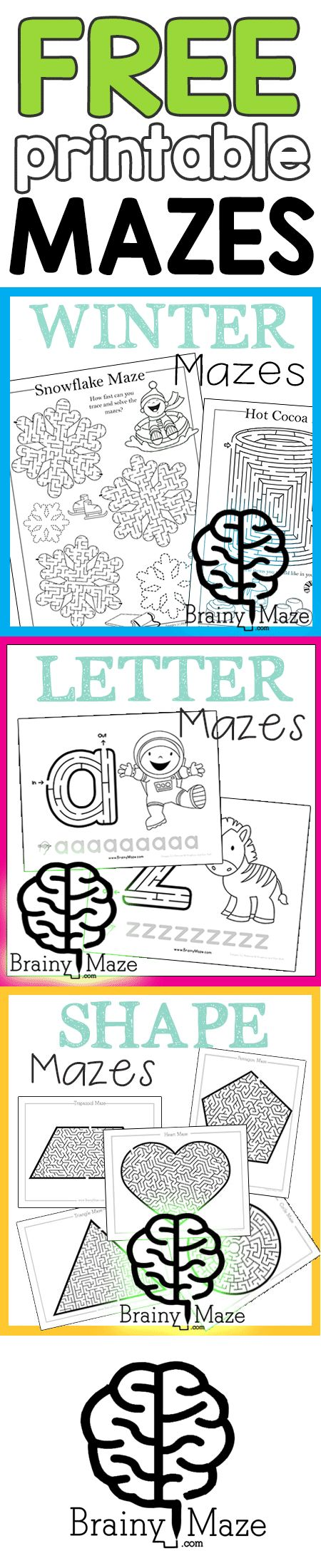 740 best otpt images on pinterest occupational therapy physical free printable mazes all organized by subject and theme educational activities paired with fun mazes and best of all free fandeluxe Choice Image