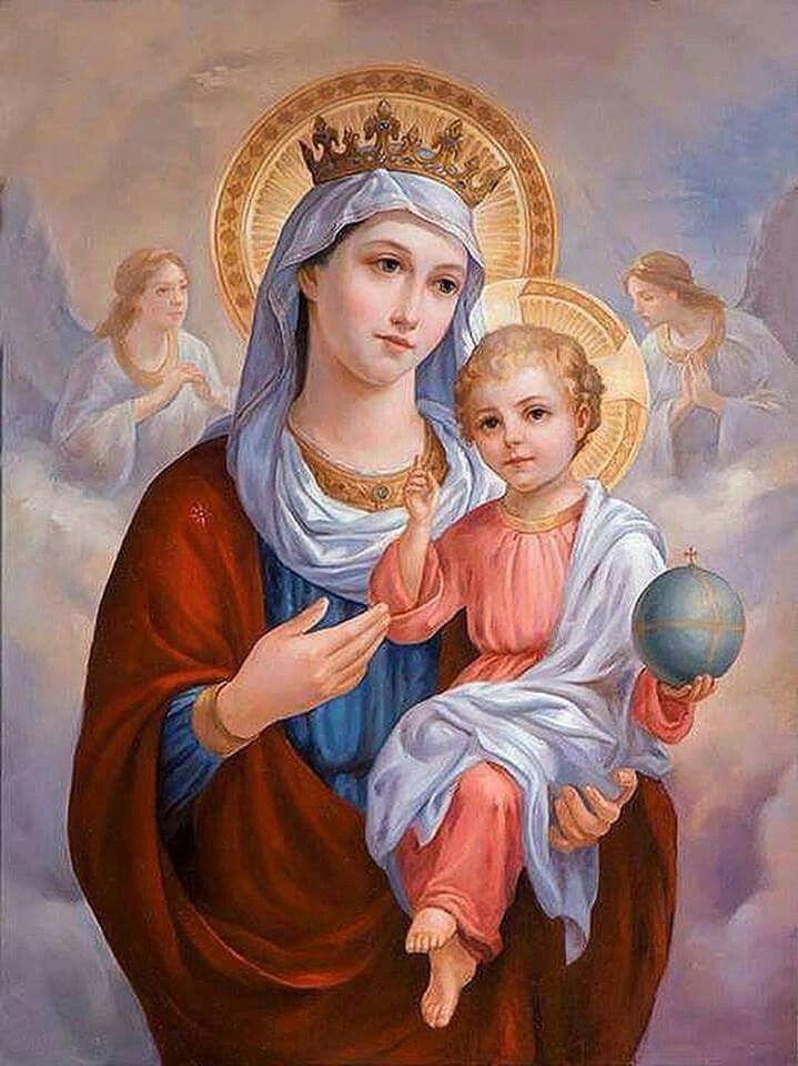 Blessed Mother Mary And Jesus 1724 best image...