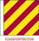 High Wind, US made Code Flag Size No. 7 - Y