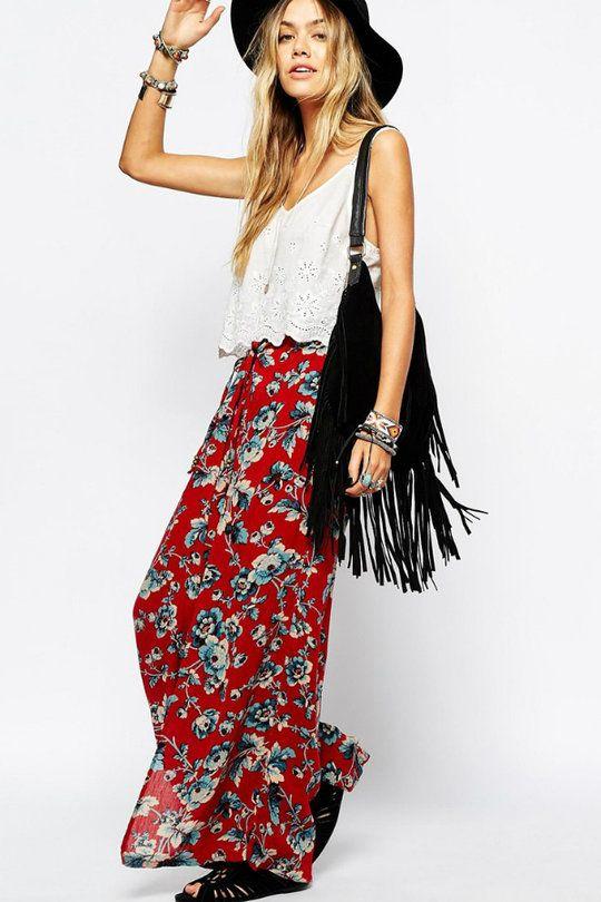 Pantalon fleuri de Denim Supply By Ralph Lauren