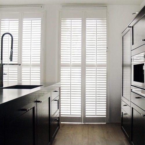 witte shutters keuken - Google zoeken