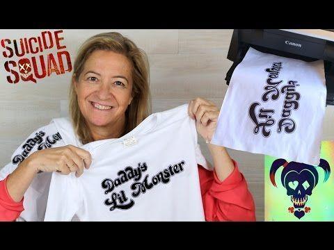3 Técnicas para estampar camisetas o remeras en casa | Ideas FACILES DIY - YouTube