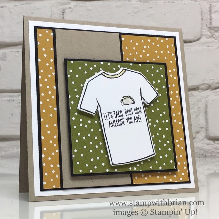 Custom Tee, Tasty Truck, Serene Scenery Specialty Designer Series Paper, Stampin' Up!, Brian King