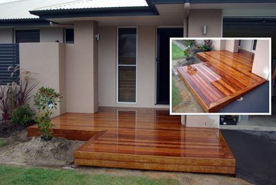 deck front entrance high gloss this deck has been finished with ...