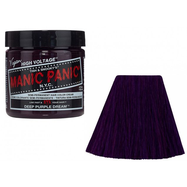Tinte de Manic Panic Deep Purple Dream #morado #beauty #altfashion #gothic #xtremonline #manicpanicspain
