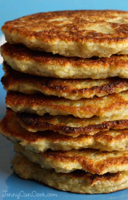 Polish Potato Pancakes recipe from Jenny Jones (JennyCanCook.com) - Healthy, never greasy and easy to make.