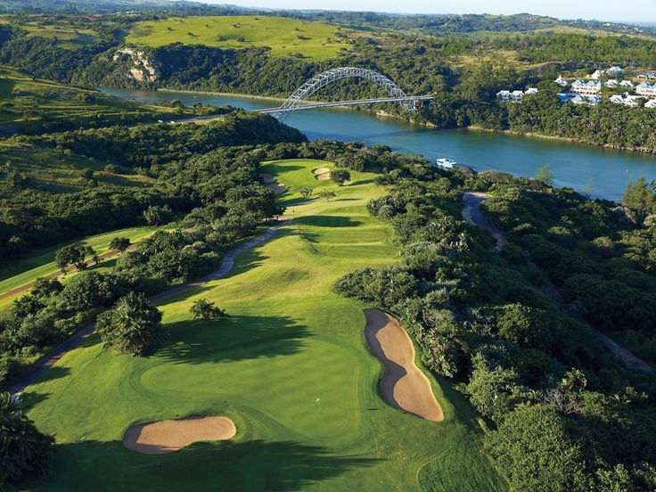 Wild Coast Sun Country Club - 5th hole locally known as Wild Coast