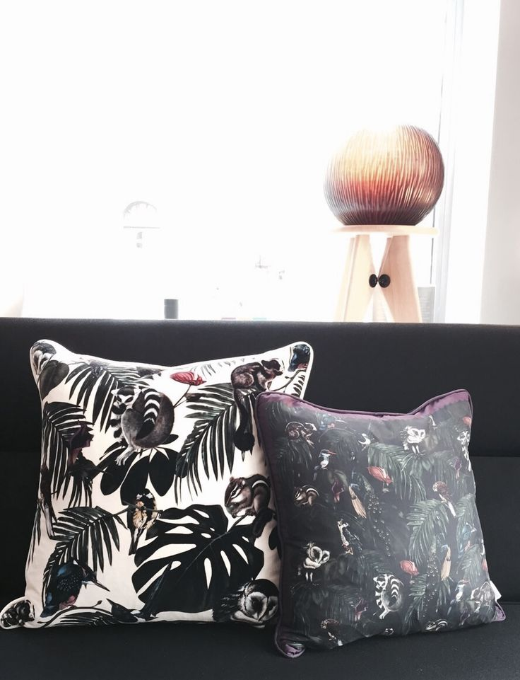 New at BENS München: Pillows by Witch & Watchman - Welcome to the Jungle! #withcandwatchman #pillows #wallpapers #decoration #bensshop #living #lifestyleproducts