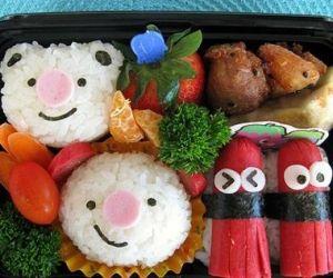 aranyos-élelmiszer-kerek orrú medve-bento doboz által _Lilian_
