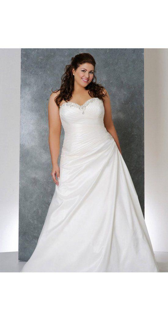 12 besten Hochzeitskleider für Mollige Bilder auf Pinterest