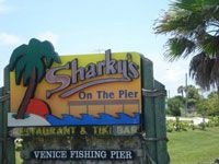 This is one of our favorite spots when we are in Venice, FL! When we are visiting for a week, we're at Sharky's at least 3-4 times.