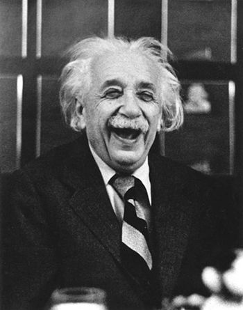 Albert Einstein - With greatness comes humor#laughter by the greatest in science history