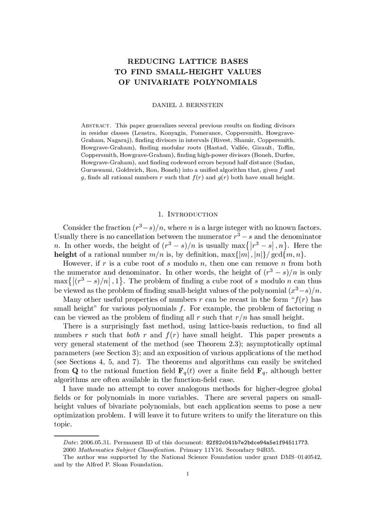 Academic paper with turabian style