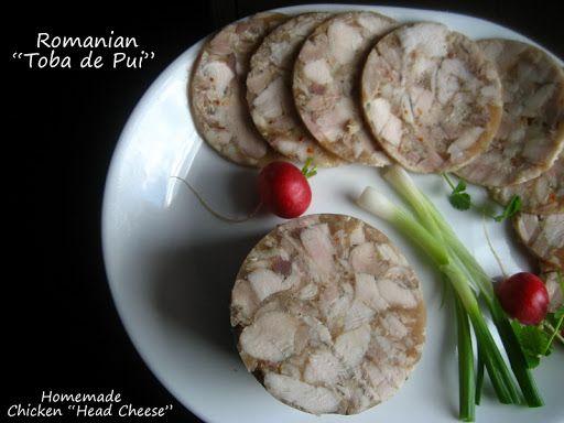 "Home Cooking In Montana: Romanian Homemade Chicken ""Head Cheese""... or ""Toba de Pui"""