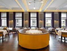 The Corinthian Club, Glasgow   Discover the best places to eat with contemporary interior design. These best restaurants are also known for their restaurant interior.
