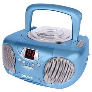 Fresh Boombox Portable Stereo CD Player with Radio Perfect CD music player for Children