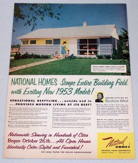 102 best ideas for the house images on pinterest old for National homes corporation floor plans