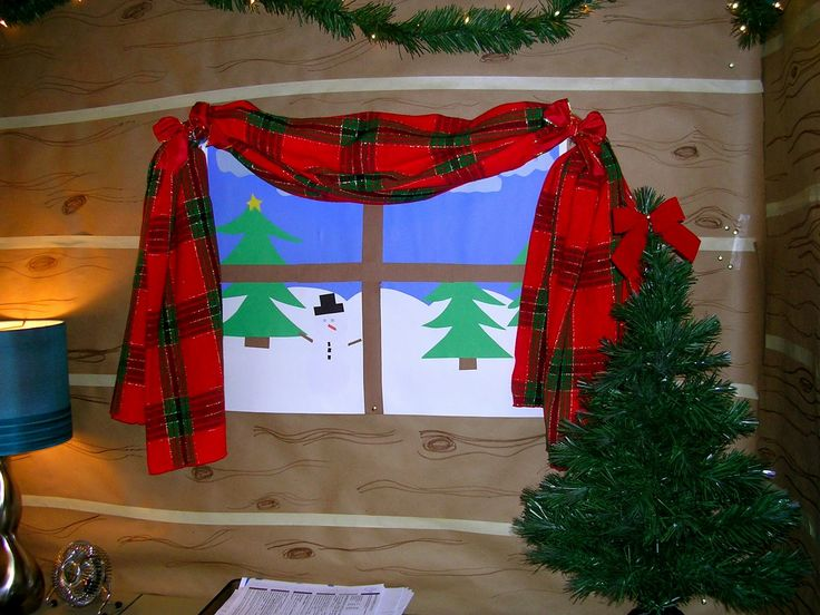 59 best cubicle designs images on pinterest cubicle for Cubicle decoration xmas