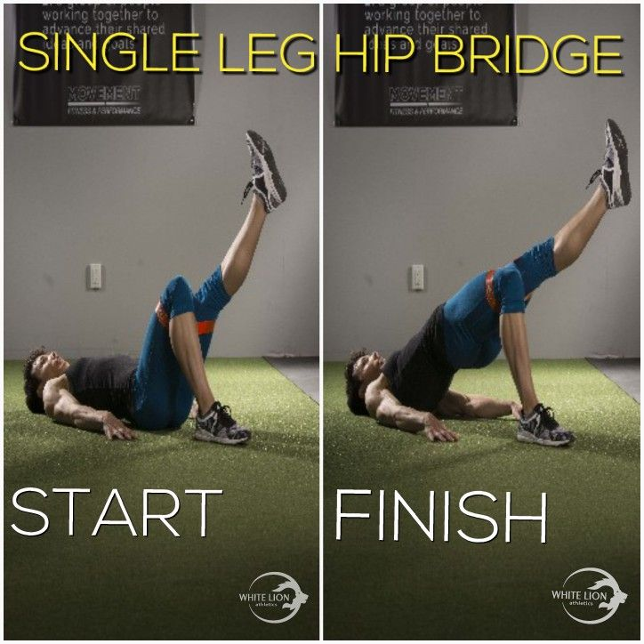 How to perform a Single Leg HIP THRUST using a Mini Band.