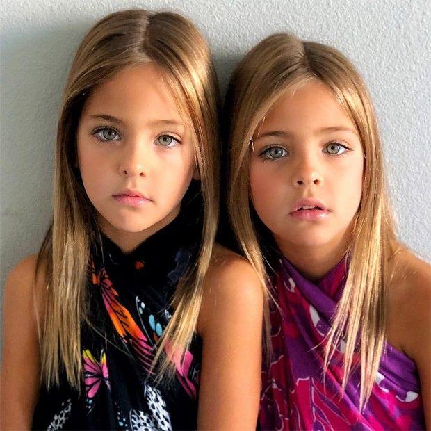Irmas De 7 Anos Sao Consideradas As Gemeas Mais Lindas Do Mundo