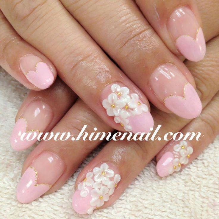 Pastelowy róż http://www.himenail.com