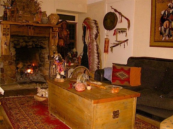 Native american art interiors for your home or office American interior design
