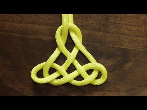 How To Tie A Decorative Paracord Oriental Pendant Knot - WhyKnot - YouTube