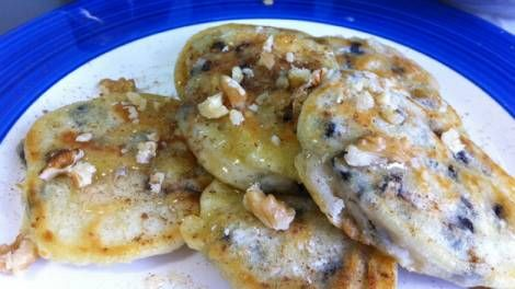 Ancient Greek pancakes, this recipe has been around for at least 2500 years, simple and yummy!