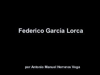 Federico garcía lorca (biografia)