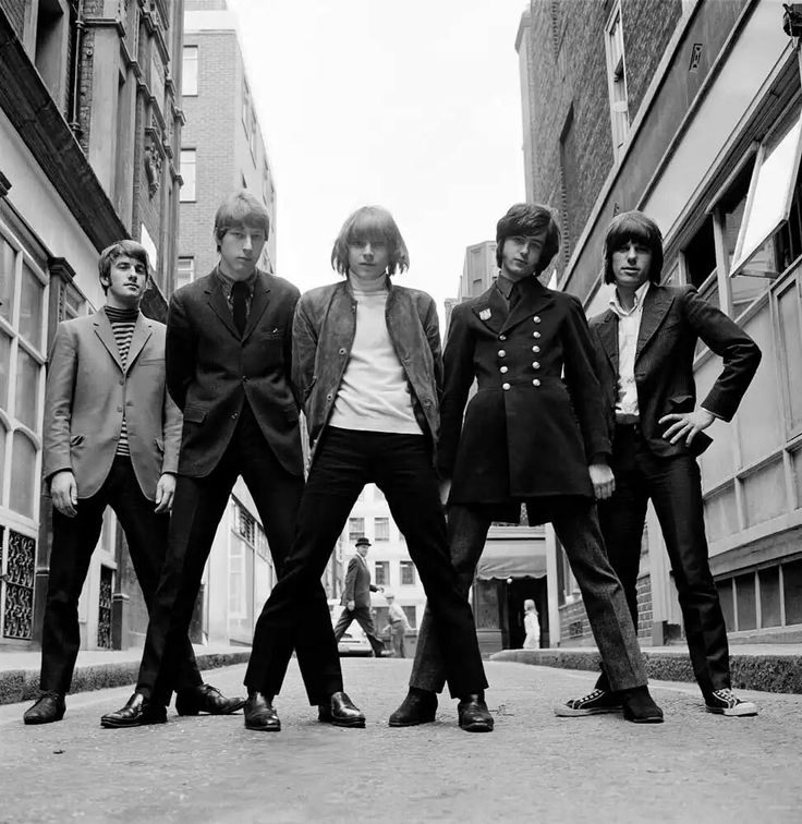 The Yardbirds, 1966, Gered Mankowitz