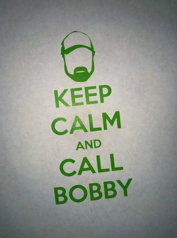 Supernatural Keep Calm and Call Bobby Precision by WeirdlyItsMe, $5.12
