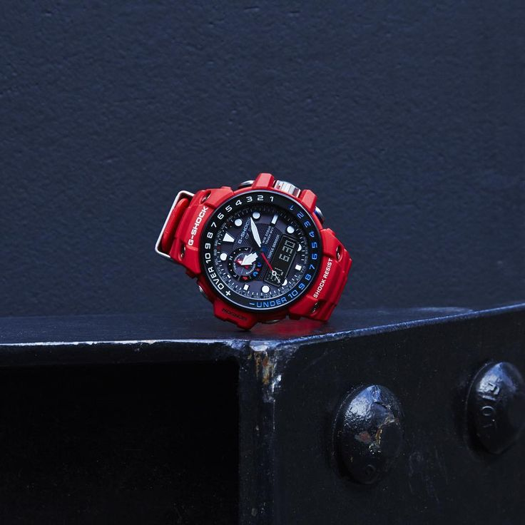 G-Shock Rescue Red Master of G GWG-1000 & GWN-1000-2