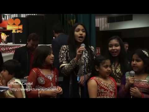 London, UK. 30th October, 2016. Hundreds of the Bangladesh community host a Diwali Celebrations 2016 with music, dance and free food at York Hall, London,UK. Photo by See Li  Picture Capital http://www.picturecapital.com