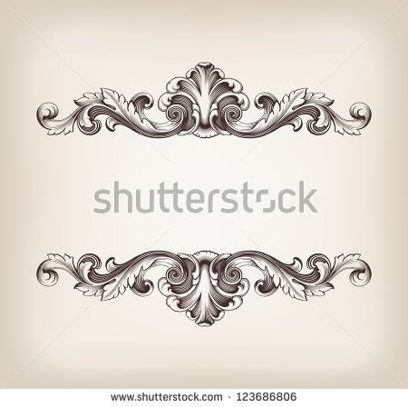 Free Vectors: Engraved Ornaments Free vector in Encapsulated PostScript eps ( .eps ) format format for free download 671.66KB