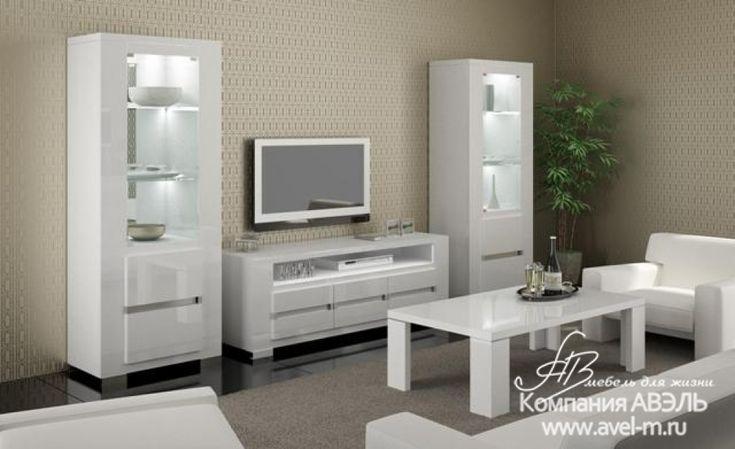 Гостиная Elegance white фабрика StatuS Италия