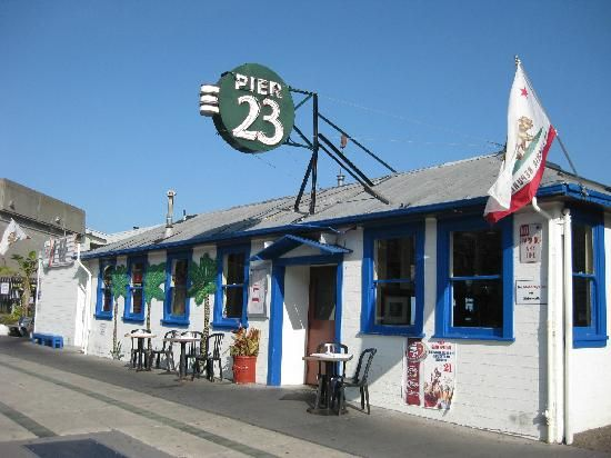 San Francisco. Pier 23 Cafe. Awesome!