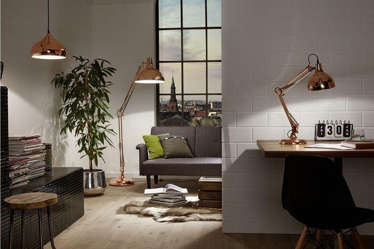 17 best images about koperen lampen on pinterest vintage. Black Bedroom Furniture Sets. Home Design Ideas
