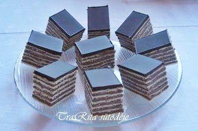 TraRita sütödéje és egyéb munkái : Dobos szelet