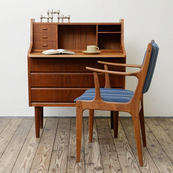 Bureau D-408D087 ビンテージ北欧家具,Deskの販売 greeniche