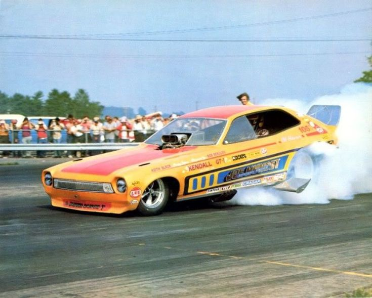 Cool Ford Pinto F/C warming the tires. & 86 best Ford Pinto images on Pinterest   Ford pinto Ford maverick ... markmcfarlin.com