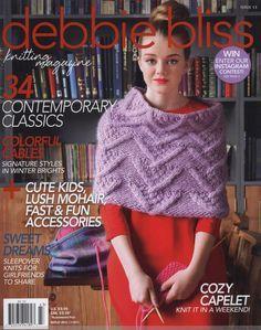 Debbie Bliss Knitting Magazine 2014