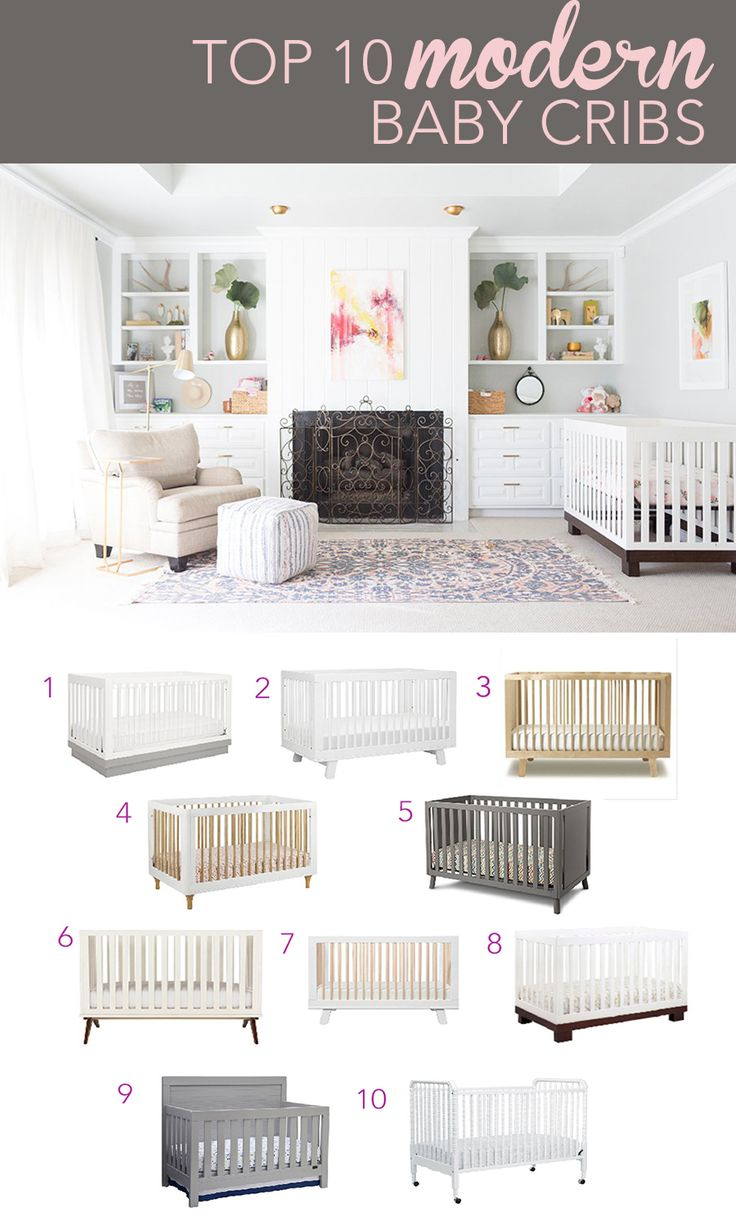 Top 10 Modern Baby Cribs | CC and Mike | Lifestyle and Design Blog