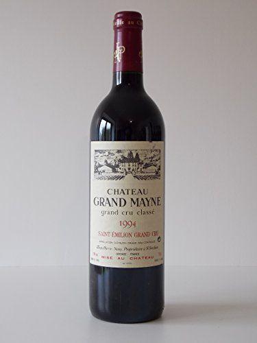 Chateau Grand Mayne 1994 Saint Emilion Grand Cru Classé: 1994 Vins Rouge STEPHCONTI