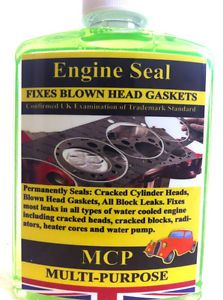 Engine Block Head Gasket Repair Engine Seal Radiator Sealer Petrol OR Diesel MCP | eBay