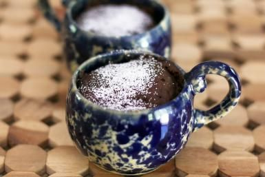 Wacky Chocolate Cake in a Mug From Your Microwave: Wacky Chocolate Mug Cake
