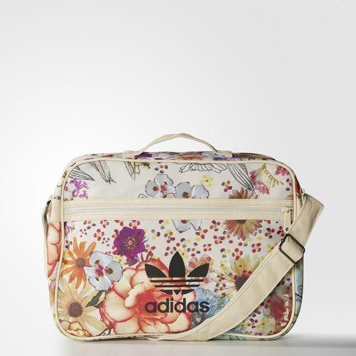 f654d6255 adidas - Bolsa Airliner Confete Farm | Bolsos》 | Adidas bags, Adidas e  Floral bags