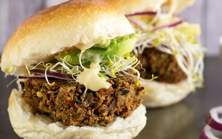 <p>This hearty vegan burger is packed with tofu, walnuts, mushrooms, and tahini. It's so easy to make, you'll be chowing down on burgers in no time!</p>