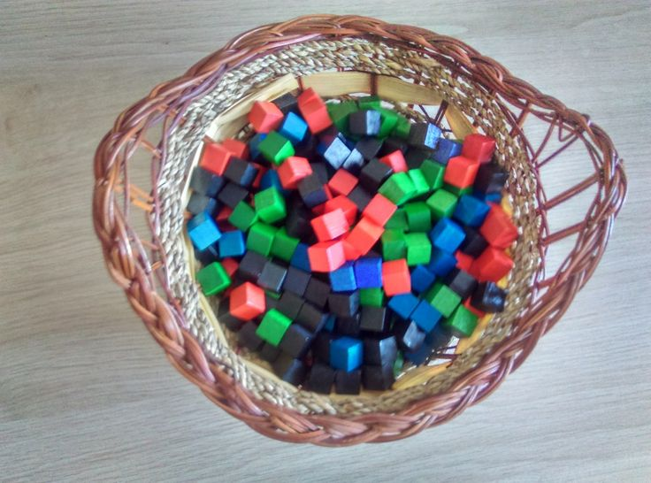Kodowanie  kolorowe kosteczki #1